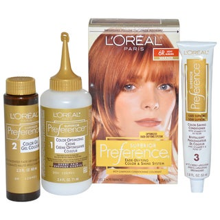 L'Oreal Paris Excellence Creme Pro-Keratine #6R Light Auburn Warmer