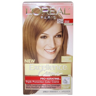L'Oreal Paris Excellence Creme Pro Keratine #8RB Reddish Blonde Warmer