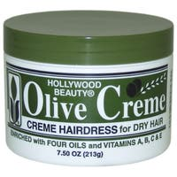 Hollywood Beauty Olive Cream Hairdress 7.5-ounce Cream