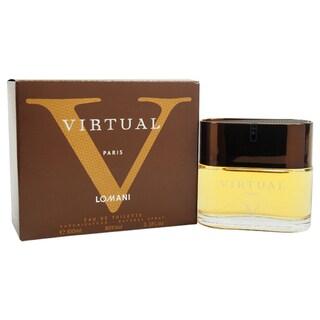 Lomani Virtual V Men 3.4-ounce Eau de Toilette Spray
