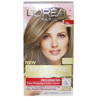L'Oreal Paris Excellence Creme Pro-Keratine #7 Dark Blonde Natural