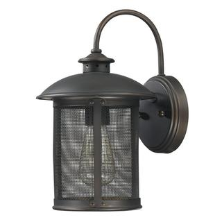 Dylan 1-light Old Bronze Outdoor Wall Mount