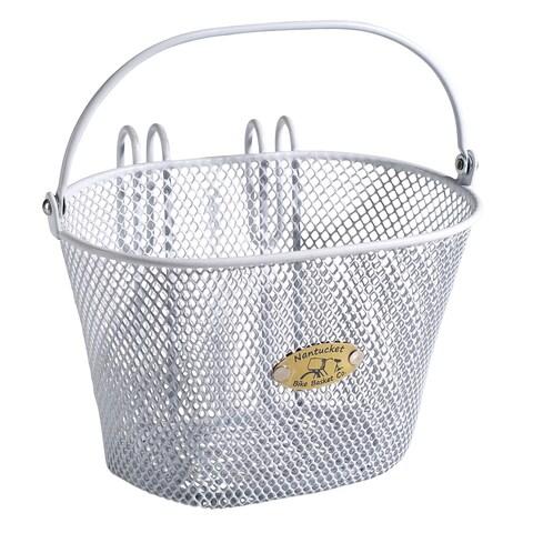 Nantucket Bicycle Basket Co. Surfside Children's Mesh Bicycle Basket with Handle