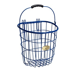 Surfside Royal Blue Rear Pannier Basket w/ Hooks