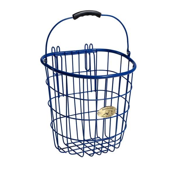 Surfside Royal Blue Rear Pannier Basket w/ Hooks