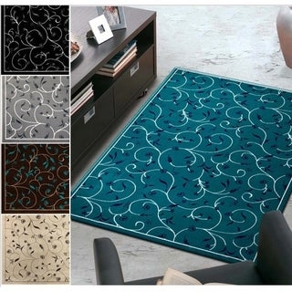 Admire Home Living Demi Vines Area Rug (5'5 x 7'7)