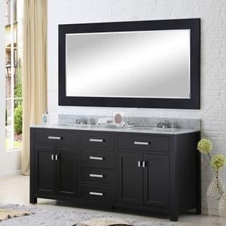 width of double sink vanity. Water Creation Madison 60 inch Espresso Double Sink Bathroom Vanity Size Vanities 51 Inches