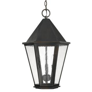 Capital Lighting Spencer Collection 3-light Old Bronze Outdoor Hanging Lantern