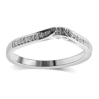 Bridal Symphony Sterling Silver 7/8ct TDW Diamond Trio Engagement Ring (I-J, I2-I3)