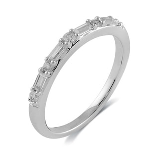 Bridal Symphony Bridal Symphony 14k White Gold 1/4ct TDW Diamond Wrap Ring (I-J, I2-I3)