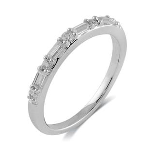 Bridal Symphony 14k White Gold 1/ 4ct TDW Diamond Wedding Wrap Ring (I-J, I2-I3)