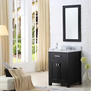 Water Creation Madison 24-inch Espresso Single Sink Bathroom Vanity