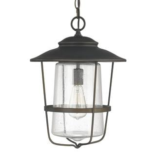 Capital Lighting Creekside Collection 1-light Old Bronze Outdoor Hanging Lantern