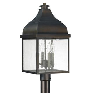Capital Lighting Westride Collection 4-light Old Bronze Outdoor Post Lantern