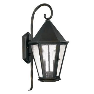 Capital Lighting Spencer Collection 2-light Old Bronze Outdoor Wall Mount