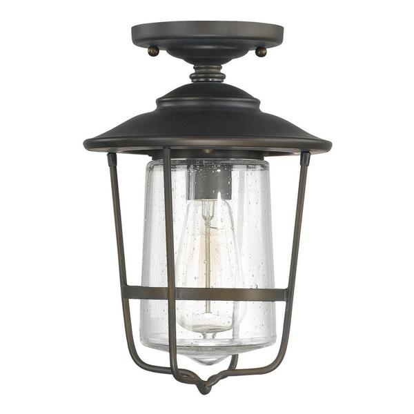 Capital Lighting Creekside Collection 1light Old Bronze Outdoor