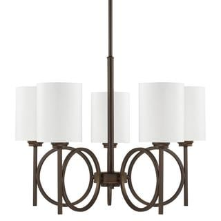 Capital Lighting Halo Collection 5-light Burnished Bronze Chandelier
