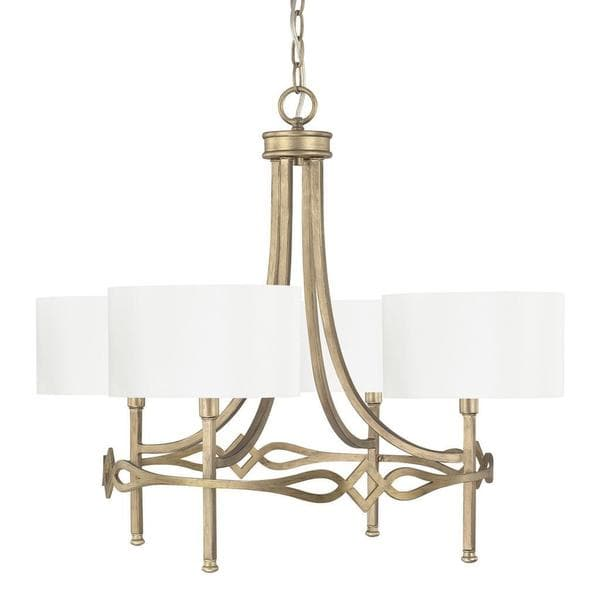 Shop Capital Lighting Landry Collection 4 Light Brushed