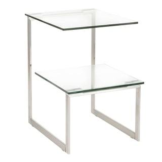 Stainless Steel 6G End Table
