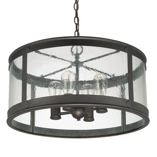 Capital Lighting Dylan Collection 4-light Old Bronze Outdoor Pendant