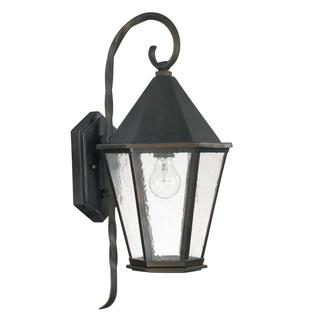 Capital Lighting Spencer Collection 1-light Old Bronze Outdoor Wall Mount