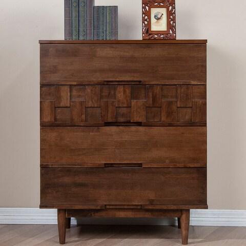Jasper Laine Tessuto 4-drawer Chest