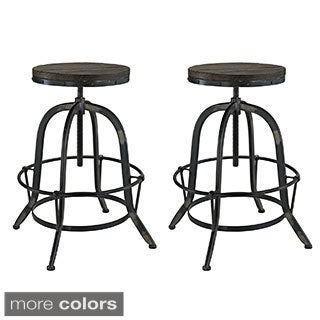 Collect Wood Top Bar Stool Free Shipping Today