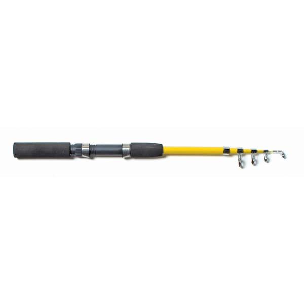Eagle Claw Yellow/ Black Telescopic Spinning Fishing Rod
