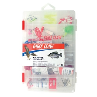 Eagle Claw 53-piece Crappie Tackle Kit