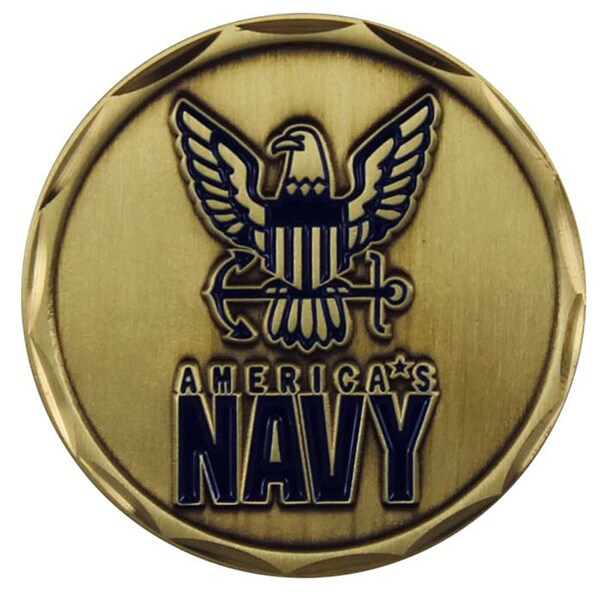 United States Navy We Own The Seas Coin