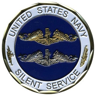 US Navy Silent Service Coin