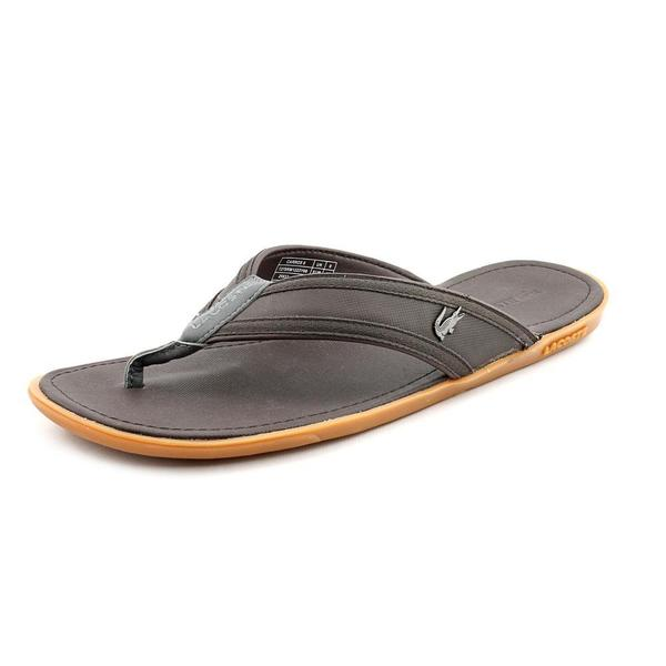 700e979acca34 Shop Lacoste Men s  Carros 5  Leather Sandals (Size 9 ) - Free ...