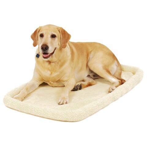 Carlson Machine Washable Fleece Pet Bed