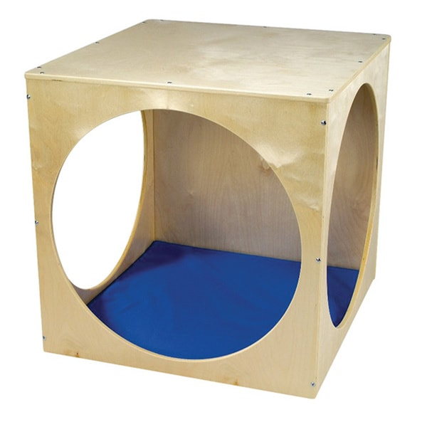 Whitney Brothers Kids Floor Cube with Royal Blue Mat