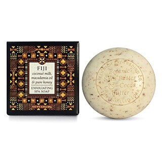 Coconut Milk, Macadamia Oil & Pure Honey Exfoliating Botanical Spa Soap (Set of 2)