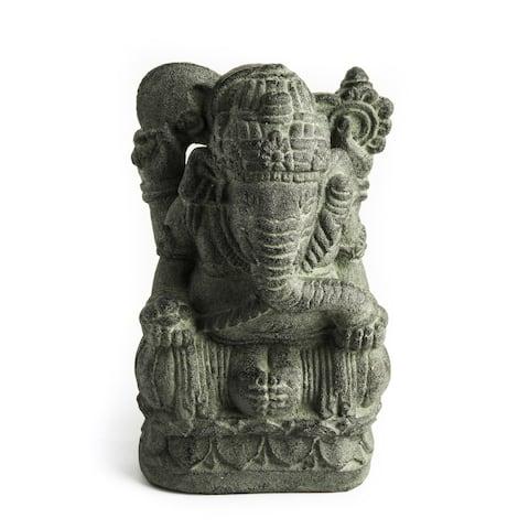 Volcanic Ash Humble Ganesha Statue (Indonesia)