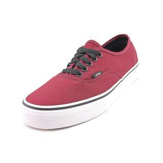 Vans Men's 'Authentic' Basic Textile Athletic Shoe (Size  9 )