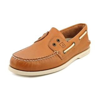 Sperry Top Sider Men's 'A/O 2-Eye Slip On' Leather Casual Shoes