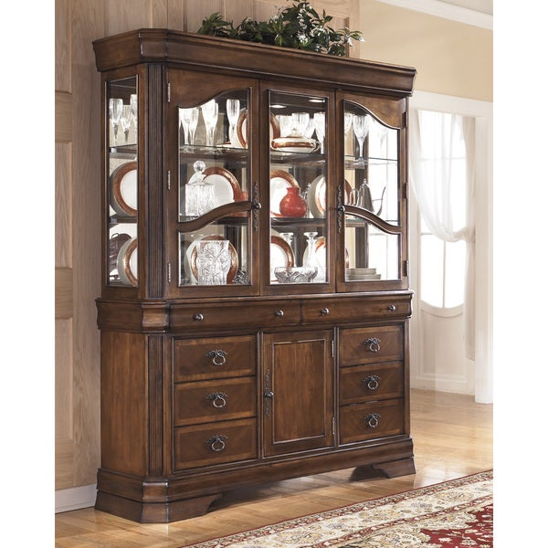 Dining Room Set With China Cabinet: Signature Designs By Ashley Hamlyn Dining China Cabinet