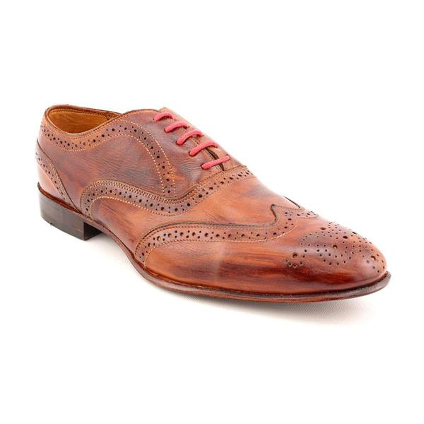 eduardo g s wingtip leather dress shoes size 13