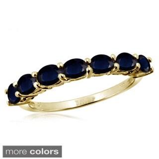 Oval-cut Sapphire Gemstone Ring