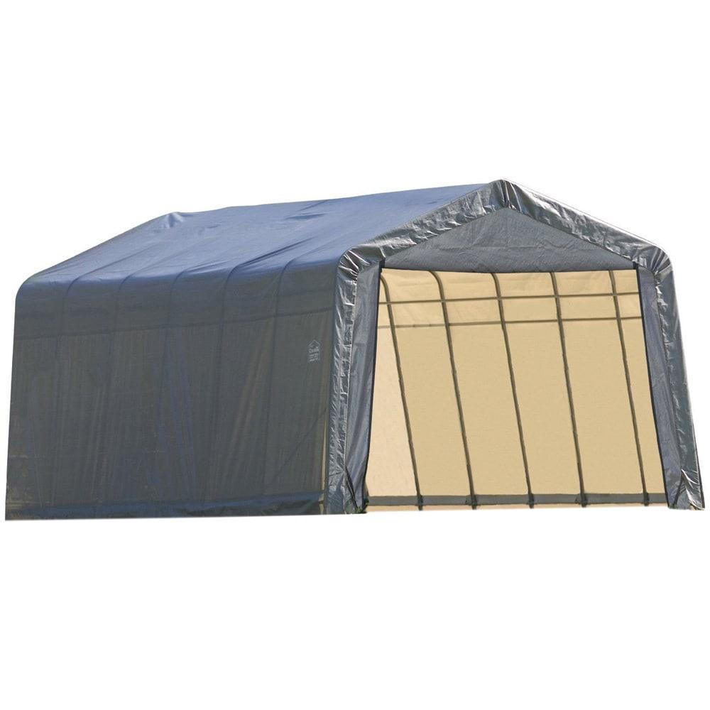 ShelterLogic Outdoor Garage Vehicle Storage Shed (8 ft H ...