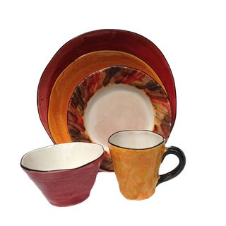 Warmtone Tortoise Shell 5-piece Serving Bowl Bundle (Italy)