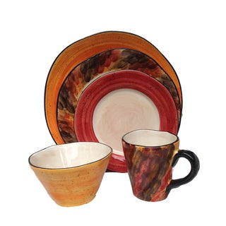 Tortoise Shell Motif 5-piece Serving Bowl Bundle (Italy)