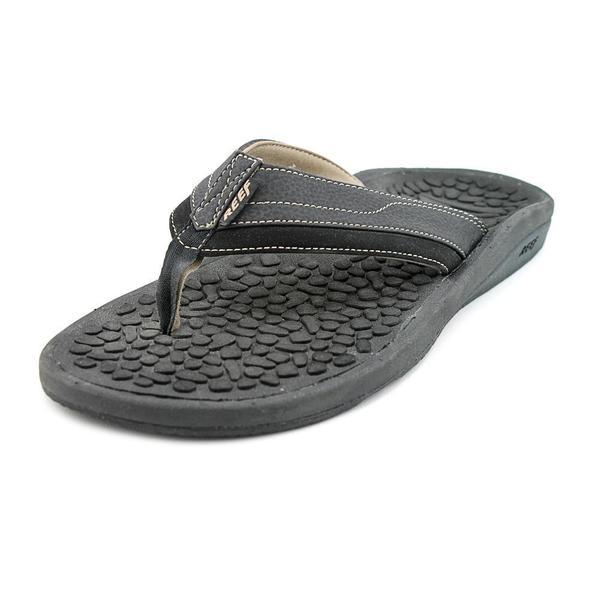 9d7df55f243e Shop Reef Men s  Playa Negra  Synthetic Sandals (Size 12 ) - Free ...