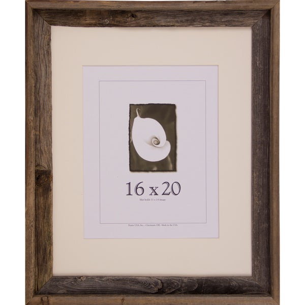 Shop Barnwood 16x20 Picture Frame Free Shipping Today Overstock