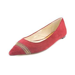 Michael Kors Women's 'Haya Flat' Regular Suede Dress Shoes (Size 7 )