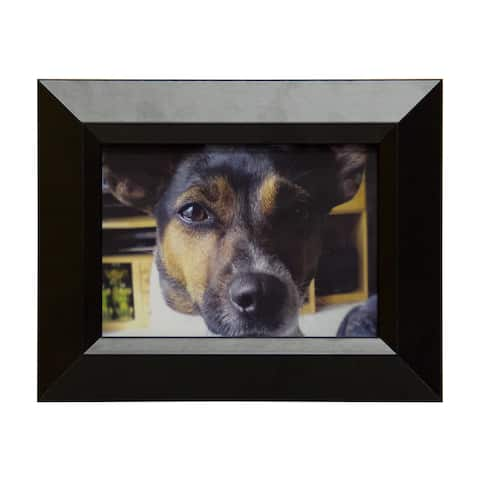 Black Narrow 5x7 Picture Frame