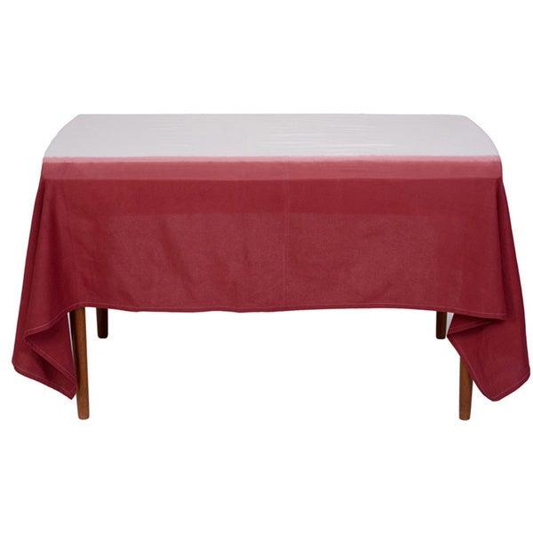 Ombre Dip Dye Table Cloth