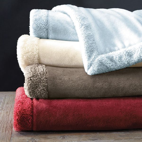 Madison Park Luxtouch Throw